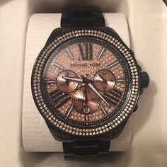 e67479087140 NWT Michael Kors Wren watch ❌Trades❗️100% authentic, has plastic over face
