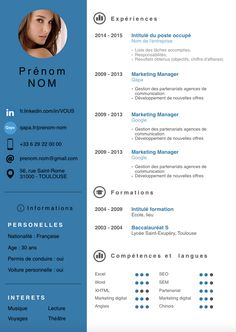 Home of Resumes Inspiration & Ideas, Beautiful Resume Ideas That Work, Find Daily High-quality resumes templates and design, Create your professional resume today !