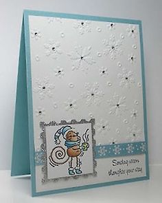 Darice embossing folder idea.