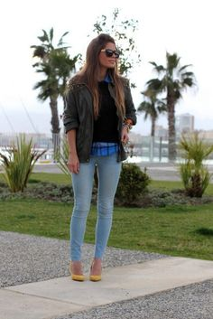 Magnificent Casual Street Style Look With Jeans 2015 For Western Ladies (4)