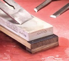 The Ultimate Guide to Waterstones | Using Sharpening Stones