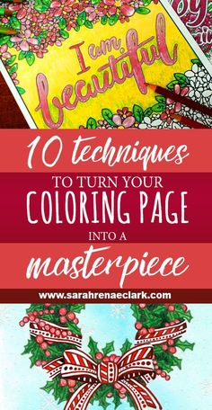 10 techniques to turn your coloring page into a masterpiece tall copy