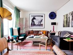 Un elegante piso rehabilitado