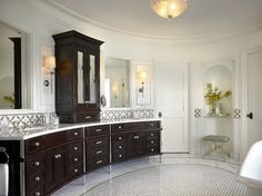 Historic Transformation - transitional - Bathroom - Chicago - Morgante Wilson Architects