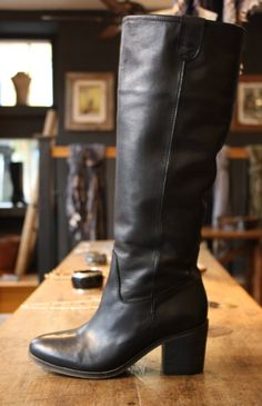 OVERIDER Leather boots Leather Boots, Leather Bag, Rock Style, Color Trends, Riding Boots, Knitwear, Clothes For Women, Bags, Shoes
