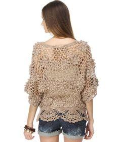 Sidney Artesanato: Adoro esta blusa