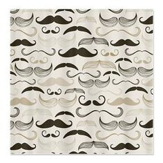 Mustaches Shower Curtain