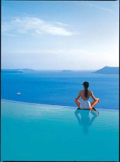 case di lusso | lussocase.it #Santorini #Greece #Infinity #Pool