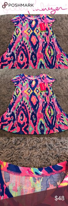Lilly Pulitzer Size 2-3t Dress Lilly Pulitzer multi luminescent dress size xs or 2-3t NEW WITH TAGS Lilly Pulitzer Dresses Casual