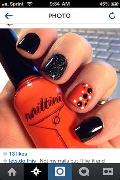 Holloween nails