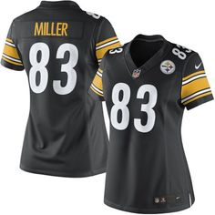 Heath Miller Pittsburgh Steelers Nike Women's Limited Jersey – Black - $144.99