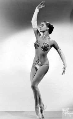 professional dancer with the stage name of Chiquita -- half of the Chiquita and Johnson dance team popular in the 1950s and '60s