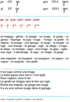 Le son j French Education, Montessori, Dessert, Crochet, Kids, French Nails, French Lessons, Learn French, Young Children