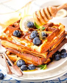 Belgian Club Soda Waffles Recipe
