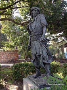 Beautiful statue in uruguay