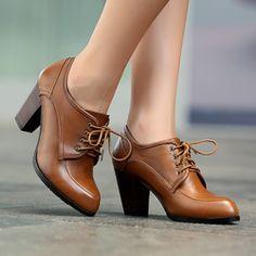 Aliexpress leather heels