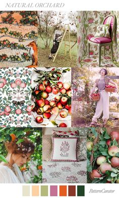 NATURAL ORCHARD by PatternCurator FW19