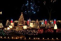 Magic Christmas Display - Home Design Photo