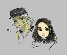 Something I found on Marie Lu's website; fan art looks so kewl!!!