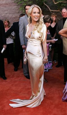 Since the days of her American Idol victory in 2005, country megastar Carrie Underwood has been a universal fashion favorite. Here, see her best red carpet looks to date.