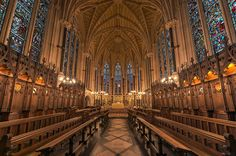 Exeter College Chapel, Oxford University