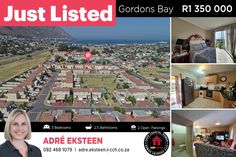 This stunning 3 bedroom townhouse in La Fontana is the ideal lock-up and go for today's busy lifestyle! This well-run complex boasts an excellent security system with 24h surveillance cameras. The grounds are well maintained with ample public open spaces as well as 2 communal swimming pools and braai areas for your leisure. 𝘾𝙤𝙣𝙩𝙖𝙘𝙩 Adré Eksteen on 082 468 1079 / adre.eksteen@cch.co.za #CCH #solemandate #helderberg #gordonsbay #lafontana #gatedestate #securitycomplex #duplex