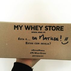 @mws.pt thanks   @jorgelucas69  já cá estãoooo! #mywheystore #mws #mysyrup #eetaéminha #lisboa ( # @matildepmaia)