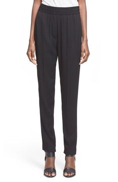 3.1 PHILLIP LIM Tapered Silk Trousers. #3.1philliplim #cloth #