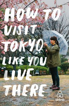 Click through for a guidebook with thousands of tips from Tokyoites. #LiveThere