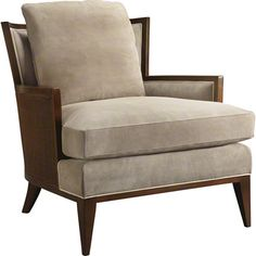 Baker Furniture : California Cane Lounge Chair by Barbara Barry