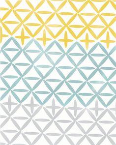 Geometric Art, Geometric Print Home Decor,  Simple Geometric Digital Print, Vintage Modern Art, Abstract Print, Abstract Wall Art. $19.00, via Etsy.
