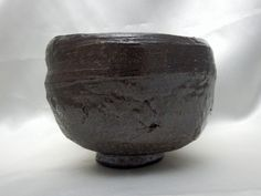 iron glaze tea bowl
