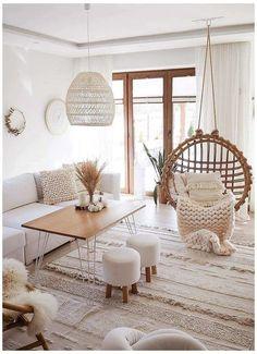 Boho Living Room, Cozy Living Rooms, Home Living, Modern Living, Minimalist Living, Small Living, Boho Room, Condo Living, Scandinavian Living