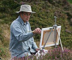 British landscape artist Rex Preston