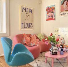 Room Ideas Bedroom, Bedroom Decor, Decor Room, Deco Studio, Pastel Room, Pretty Room, Aesthetic Room Decor, Dream Rooms, My New Room