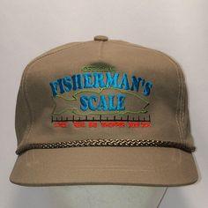 7421ab7e Vintage Snapback Fishing Hat Caps Rope Khaki/Beige Baseball Cap Fun Hats  For Men Original Fishermans Scale Angler Dad Hat Gift T44 MA8096