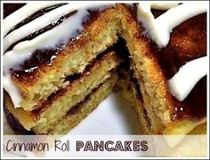 Addictive, #IHOP inspired Cinn-A-Stacks Pancakes!!