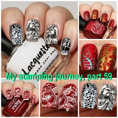 Marias Nail Art and Polish Blog: My stamping journey - part 59