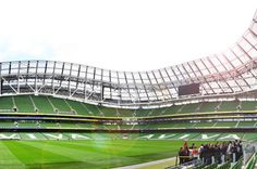 Guided Tour of Aviva Stadium in Dublin 						Embark on guided tour of what is probably the best tourist experience in Dublin. Stunning architecture and 150 years of Irish sporting history. Aviva Stadium is one of the oldest sports grounds in the world still in use. The Pearl of Dublin will take your breath away. Visit the Irish dressing rooms, dugouts, media centre and more. Stand close to your hero's blood, sweat and tears. Be inspired, awed and dazzled. 		 								The tour f...