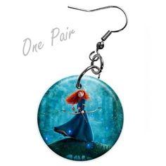 Brave movie merchandise   Brave Merida Ver2 Earrings