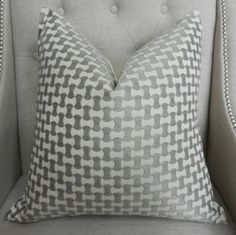 Decorative Designer Pillow Cover  20X20  Schumacher by elegantouch, $75.00