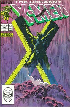 Uncanny X-Men Comic Marvel 1989 Wolverine Tortured By Reavers Silvestri HTF for sale online X Men, Marvel Comics, Marvel Wolverine, Psylocke, Comic Art, Comic Books, Comics For Sale, The Uncanny, Bronze Age