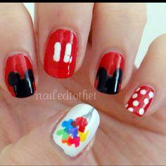 DISNEY Nails - i like the balloons