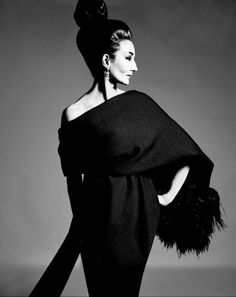 When the Famous Dressed Themselves - The New York Times.  A Richard Avedon photo of Jacqueline de Ribes at the Metropolitan Museum. Credit The Richard Avedon Foundation