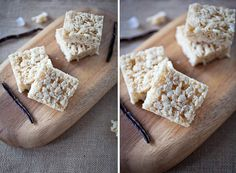 Vanilla Bean Rice Krispie Treats