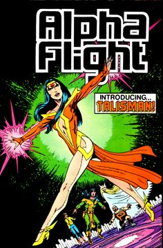 SPLOOOSH!!!  Alpha Flight #19 - John Byrne