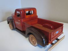 Fresh out of the sawdust factory: 51 Ford F-1 Pickup truck