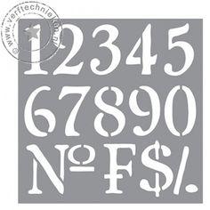 Sjabloon Numbers