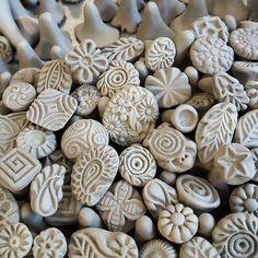 Handgemaakte Clay stempels voor aardewerk polymeer PMC