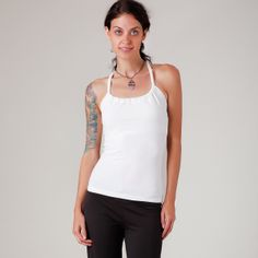 Prana Printed Quinn Tank Top Winter Womens Apparel at Vickerey Printed Quinn from Prana super flattering with gathered scoop-neck elegant racer back. Winter Tops, Basic Tank Top, Cool Outfits, Scoop Neck, Feminine, Clothes For Women, Elegant, Tank Tops, Fabric